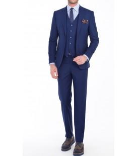 Kiğılı Slim Fit Takım Elbise Lacivert 0k1k7et205f48