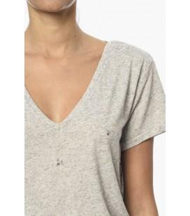 NetWork Kadın Tişört 1062270 Gri Melanj