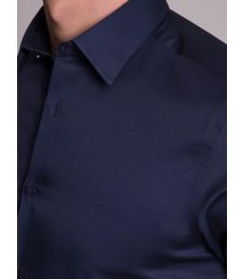 Dufy Erkek Gömlek DU1999011014 Lacivert