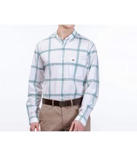 Lacoste Erkek Mavi Regular Fit Gömlek CH0849.49T