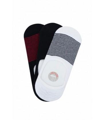 Defacto Erkek Lacivert 3'Lü Babet Çorap Seti K4594AZ