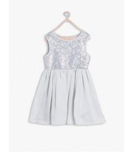 Koton Kız Çocuk Elbisesi 6KKG89205TW023