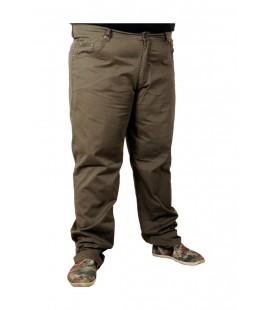 ModeXL Büyük Beden Erkek Pantolon Keten Likralı Klasik 18980