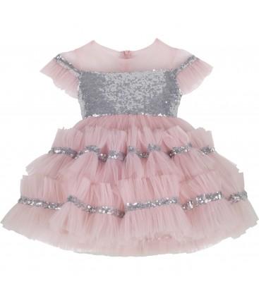 Mamino Cupcake Kız Çocuk Elbise 9368