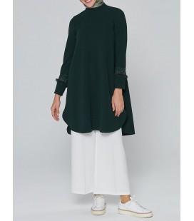 Armine Kadın Tunik Yeşil 9K4880