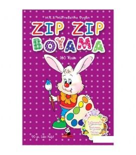 Boyama Kitabı Ton Ton - Eğlenceli Boyama Dizisi 3
