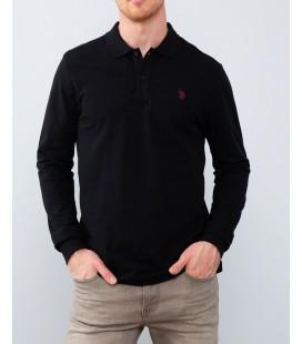 U.S. Polo Assn. Erkek Sweatshirt G081GL082.000.838920 Siyah