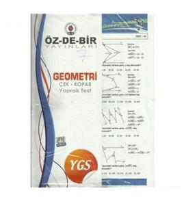 YGS Geometri Çek-Kopar Yaprak Testi Özdebir Yayınları