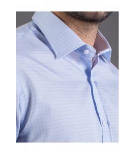 Tudors Erkek Açık Mavi Klasik Fit Gömlek KL190012-211