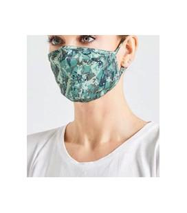 Yıkanabilir Neopren Kumaş Kamuflaj Desenli Maske