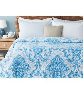Madame Coco Richelle Çok Amaçlı Çift Kişilik Yatak Örtüsü - Mavi 1KYOCK0390106