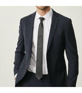 Altınyıldız Classics Slim Fit Dar Kesim Düz Lacivert Su Geçirmez Nano Takım Elbise TS3010000011