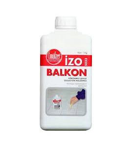 İzo Balkon 5033 - Görünmez Şeffaf İzolasyon Malzemesi 1 Kg.