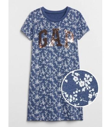Gap Kız Çocuk | Gap Logo Pullu Elbise 550752
