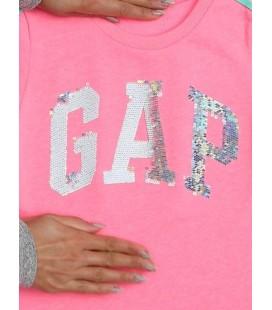 Gap Kız Çocuk Logo Pullu Elbise 550752