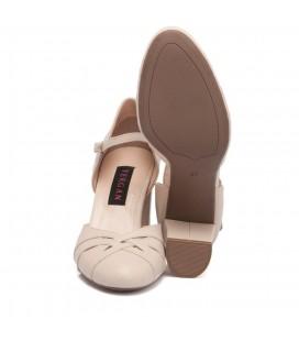 Tergan A. Pudra Deri Kadın Ayakkabı 64189M0Q K19I1AY64189