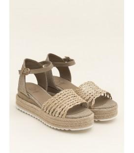 Elle Rowe Bej Naturel Kadın Sandalet