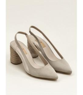 Elle Justina Bej Kadın Kalın Topuk Ayakkabı