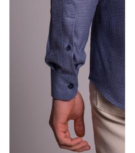 Dufy Erkek Gömlek DU3194016020 Lacivert Erkek Gömlek