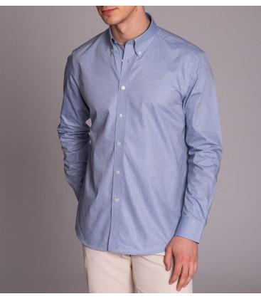 Dufy Erkek Gömlek DU3194016001 Mavi Erkek Gömlek