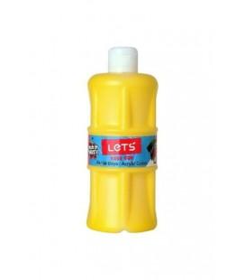 Lets Akrilik Boya 500 ml. Sarı