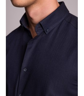 Dufy Erkek Gömlek DU3194013020 Lacivert Erkek Gömlek