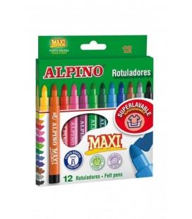 Alpino Maxi Keçeli Boya Kalemi 12 Renk