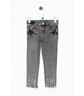 Tyess Kız Çocuk Gri Pantolon 19FW2TJ4239