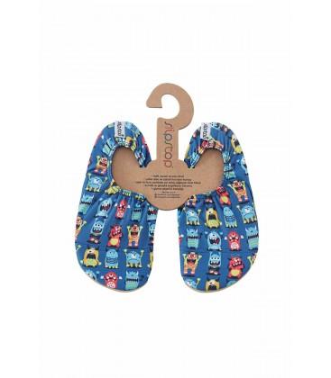 Slipstop Mavi Unisex Çocuk Kaydırmaz Havuz Ve Deniz Ayakkabısı Ss17120136