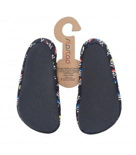 Slipstop Moto Çocuk Siyah Havuz Ayakkabısı ss17120127
