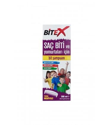DenizPharma Bitex Saç Biti Ve Sirkeler Için Şampuan 200 Ml Brothers1160