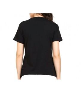 Puma Classics Logo Kadın Siyah Tişört 57624256