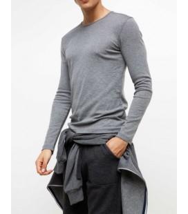 Defacto Erkek Uzun Kol Basic Sweatshirt G1494AZ