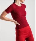 Rue Kadın Bordo Bluz 20770098