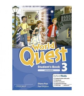 World Quest 3 Student´s Book - Oxford