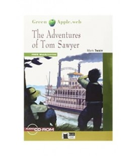 Adventures of Tom Sawyer+cdrom New Edition (Green Apple)