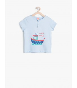 Koton Baskılı T-Shirt 6YMB18575OK610