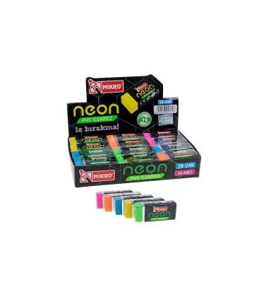 Micro Neon Silgi İz Bırakmaz Silgi - 2B-24N