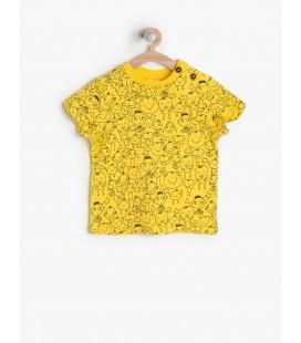 Koton Çocuk Baskılı T-Shirt 6YMB18096OK170