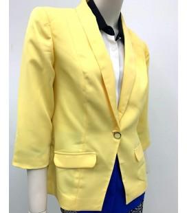 Joymiss Kadın Sarı Ceket 10721