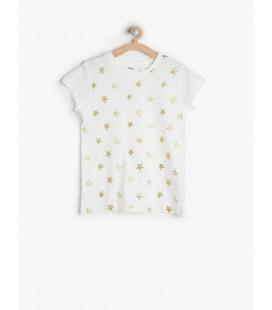 Koton Baskılı T-Shirt 7KKG17335AK000