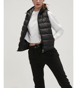 Bad Bear Kadın Siyah Yelek Heater Vest Nıght Yelek 20.02.17.002