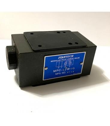 FireTech NG06 A-B Hattı Modüler Kilitleme Valfi MPC-02W-40
