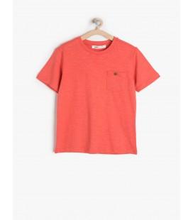 Koton Çocuk Cep Detaylı T-Shirt 6YKB18858OK406