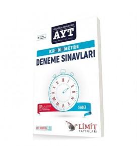 Limit Yayınları AYT Kronometre Yeni Müfredat 5 Deneme
