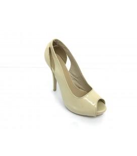 Guja Kadın Krem Topuklu Ayakkabı S1232