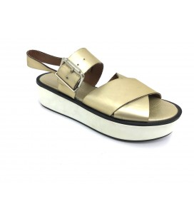 Defacto Kadın Gold Sandalet DK7940