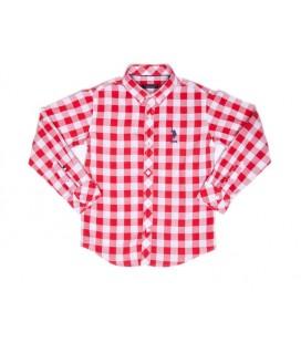 U.S.Polo Assn. Çocuk Gömlek G083SZ004.CARL.115423.VR030 Dokuma Gömlek