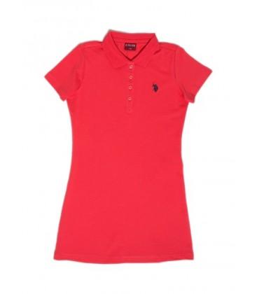 U.S.Polo Assn. Kız Çocuk Elbise G084SZ075.000.126430.KR0153 Örme Elbise