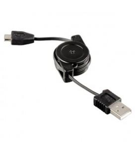Hama 104825 USB Şarj Kablosu Micro USB Sarılabilir